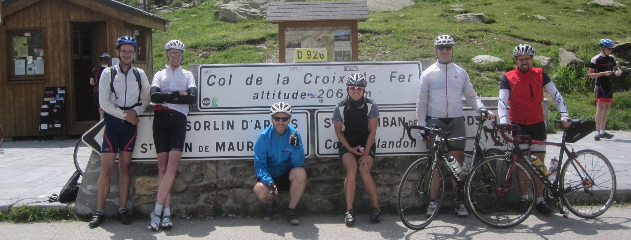 On the Croix de Fer