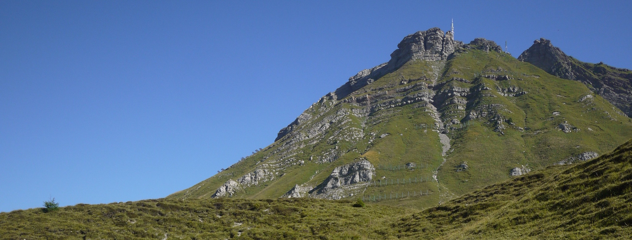 The flat section to the Rolle Pass.