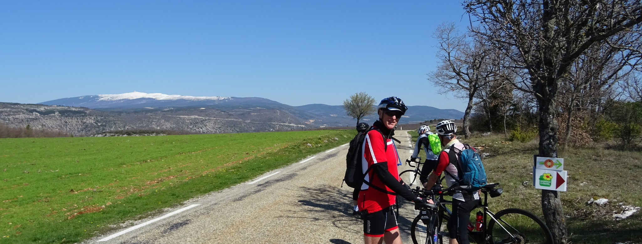 In the shadows of Mont Ventoux.