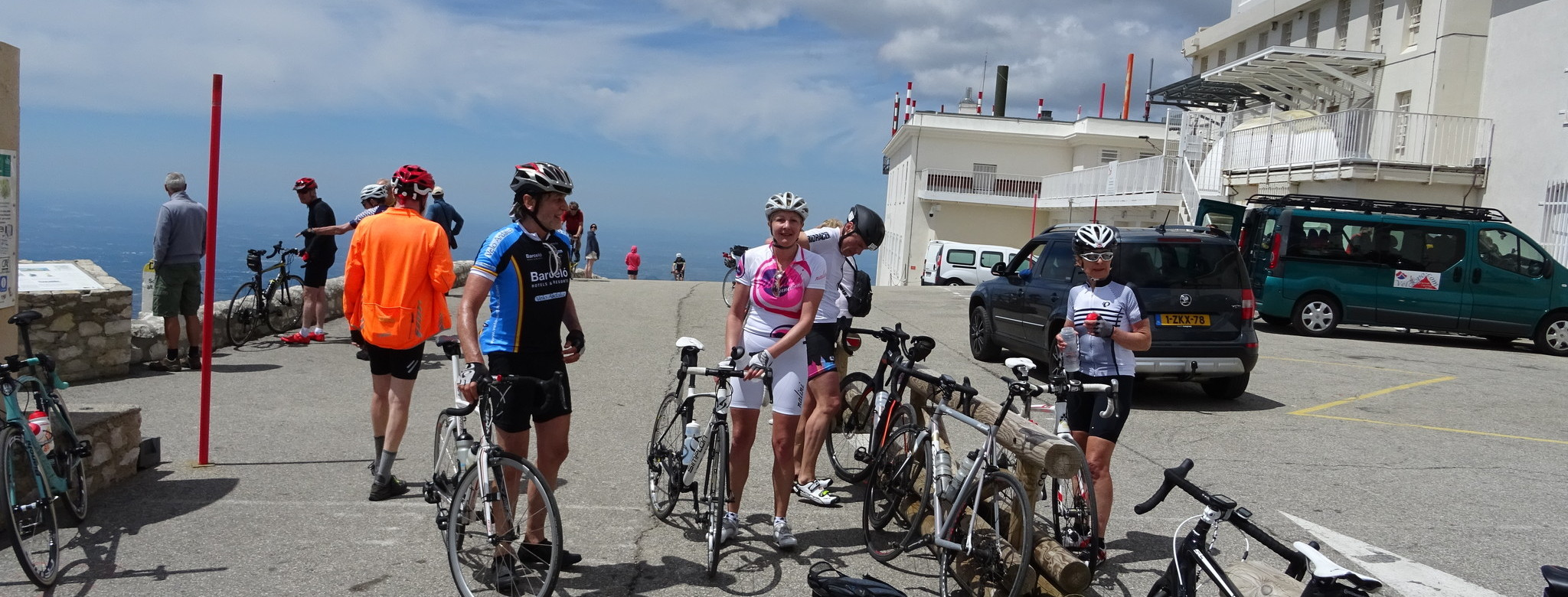 Ventoux: at the top